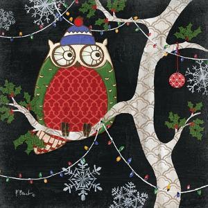 Winter Fantasy Owls II by Paul Brent
