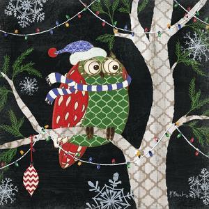 Winter Fantasy Owls III by Paul Brent