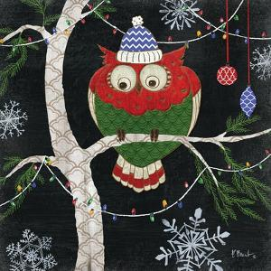 Winter Fantasy Owls IV by Paul Brent