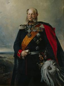 Kaiser Wilhelm I in the Uniform of the First Regiment of Foot Guards, 1879 by Paul Bulow