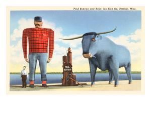 Paul Bunyan and Babe, Bemidji, Minnesota
