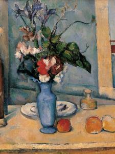 Blue Vase by Paul C?zanne