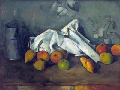 Boîte À Lait Et Pommes (Milk Can and Apples) by Paul C?zanne