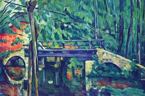 Bridge in the Forest by Paul C?zanne