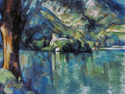 Cezanne: Annecy Lake, 1896 by Paul C?zanne