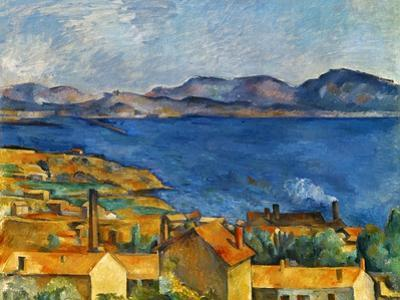 Cezanne:Marseilles,1886-90 by Paul C?zanne