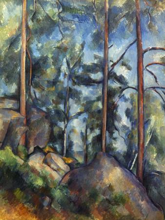 Cezanne: Pines, 1896-99 by Paul C?zanne