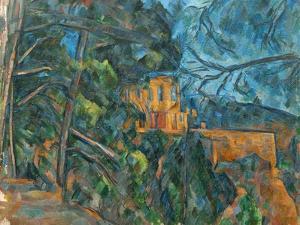 Chateau Noir, 1900-04 by Paul C?zanne
