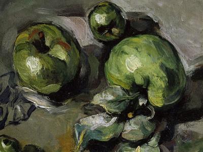 Green Apples, c.1873 by Paul C?zanne