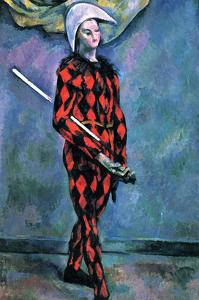 Harlequin by Paul C?zanne