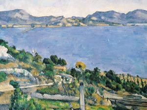 L'Estaque, View of the Bay of Marseilles, circa 1878-79 by Paul C?zanne