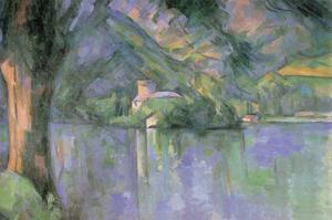 Le Lac Annecy by Paul C?zanne