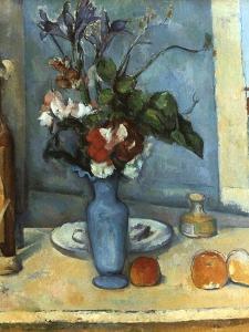 Le Vase Bleu, 1889-1890 by Paul C?zanne