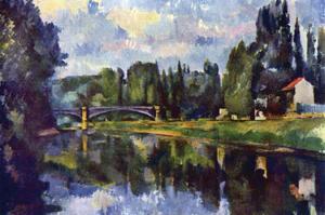 Marne Shore by Paul C?zanne