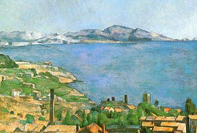 Marseilles Bay by Paul C?zanne