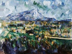 Mont Sainte-Victoire by Paul C?zanne