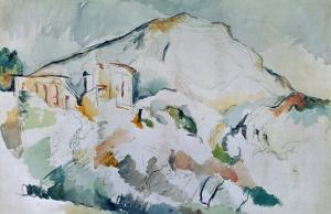 Mount Sainte-Victoire by Paul C?zanne