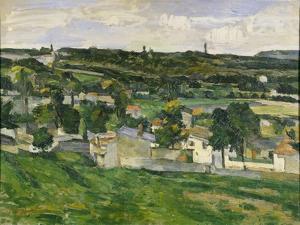 Near Auvers-Sur-Oise, C.1880 by Paul C?zanne
