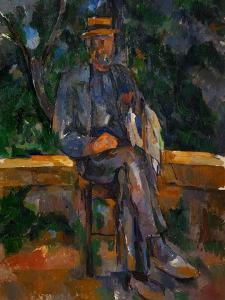 Seated Man, 1905-1906 by Paul C?zanne