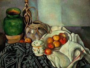 Still Life with Apples, 1893-94 by Paul C?zanne