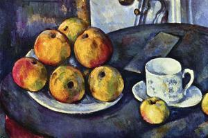 Still Life with Cup and Saucer by Paul C?zanne