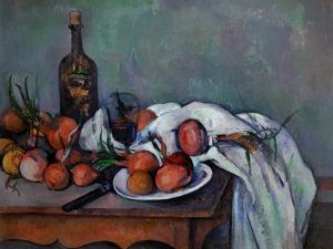 Still Life with Onions, 1895 by Paul C?zanne