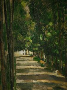 The Avenue (Park of Chantilly), circa 1879 by Paul C?zanne