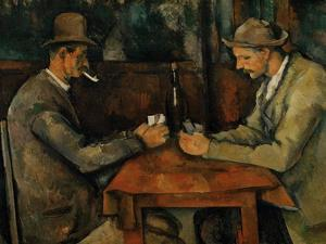 The Card Players, 1890-95 by Paul C?zanne