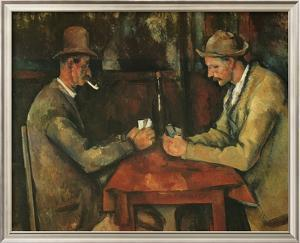 The Card Players by Paul C?zanne