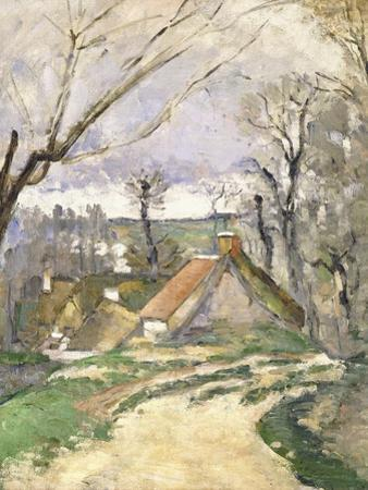 The Cottages of Auvers, 1872-73 by Paul C?zanne
