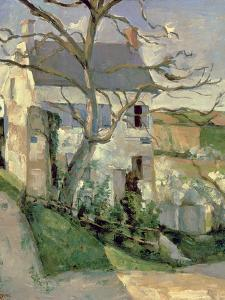 The House and the Tree, C.1873-74 by Paul C?zanne