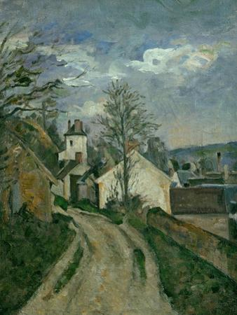 The House of Dr. Gachet at Auvers, circa 1873 by Paul C?zanne