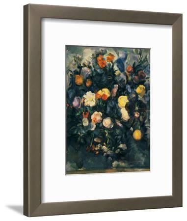 Vase of Flowers, 19th by Paul C?zanne