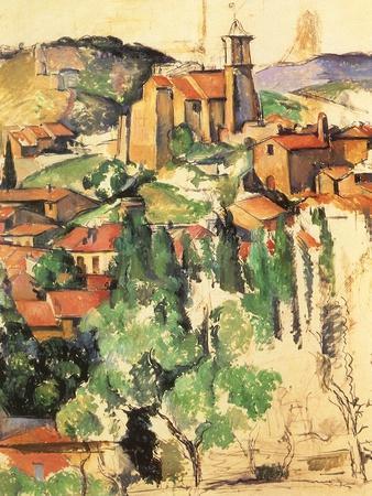 Village of Gardanne, 1885