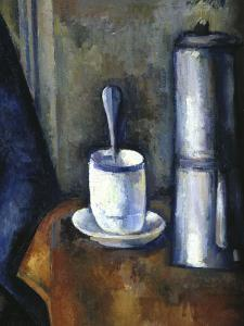 Woman with a Coffee Pot, c.1890-95 (detail) by Paul C?zanne