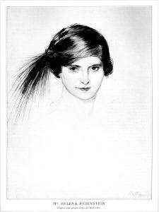 Helena Rubinstein by Paul César Helleu by Paul Cesar Helleu