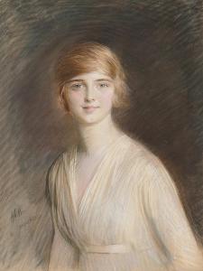 Portrait of Jacqueline by Paul Cesar Helleu