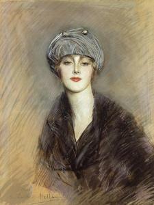 Portrait of Lucette, c.1913 by Paul Cesar Helleu