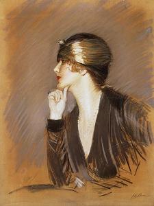Portrait of Lucette by Paul Cesar Helleu