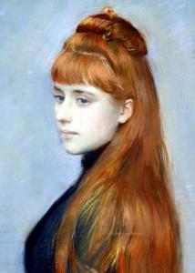 Portrait of Mademoiselle Alice Guerin by Paul Cesar Helleu