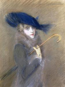 Portrait of Peggy Letellier by Paul Cesar Helleu