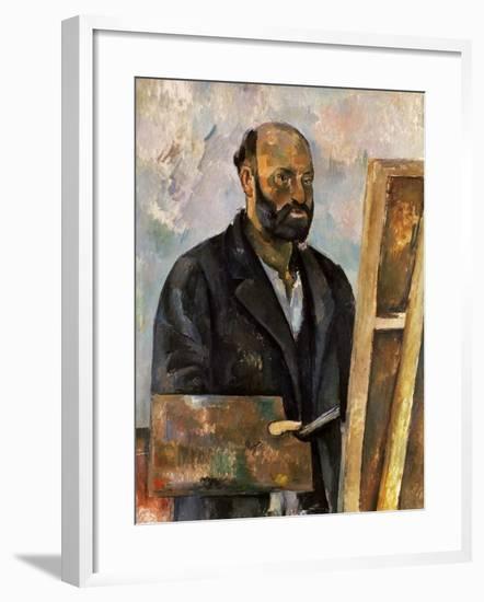 Paul Cezanne (1839-1906)-Paul Cézanne-Framed Giclee Print