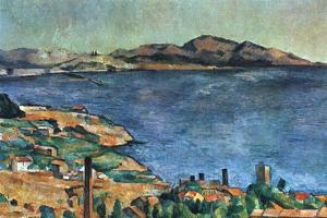A Marseille, 1883-1885 by Paul Cézanne