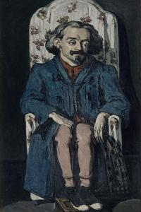 Achille Emperaire, 1867-1868 by Paul Cézanne