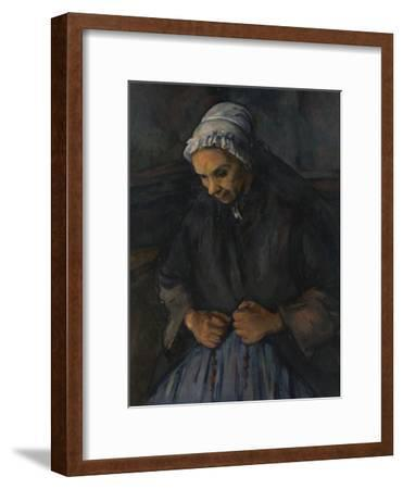 An Old Woman with a Rosary, C. 1895