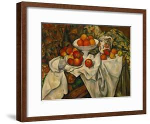Apples and Oranges by Paul Cézanne