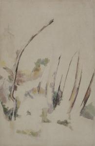 Arbres by Paul Cézanne