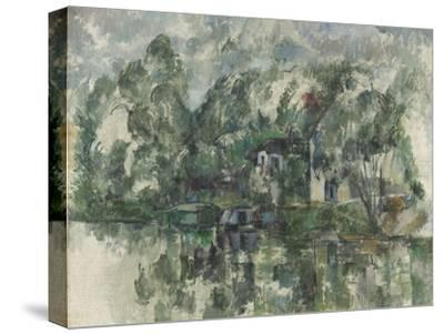 At the Water's Edge, C. 1890 by Paul Cézanne