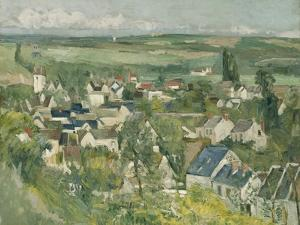 Auvers, Panoramic View, 1873-75 by Paul Cezanne