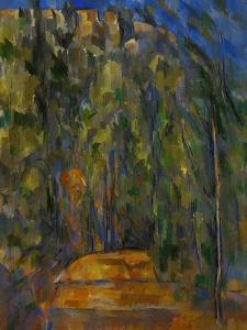 Bend in the Forest Road, 1902-1906 by Paul Cézanne